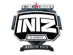 Sticker | INTZ E-SPORTS CLUB (Foil) | Berlin 2019