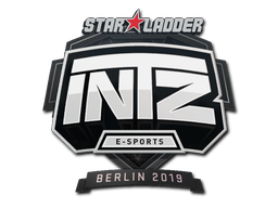 Наклейка | INTZ E-SPORTS CLUB | Берлин 2019