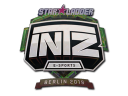 Sticker | INTZ E-SPORTS CLUB (Holo) | Berlin 2019