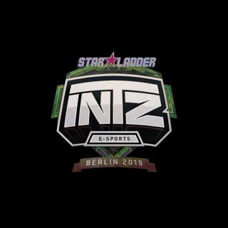 Sticker   INTZ E-SPORTS CLUB (Holo)   Berlin 2019