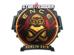 Sticker | ENCE (Foil) | Berlin 2019
