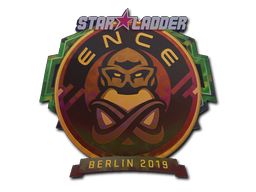 Sticker | ENCE (Holo) | Berlin 2019