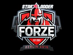 Sticker | forZe eSports (Foil) | Berlin 2019