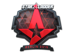 Sticker | Astralis (Foil) | Berlin 2019