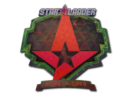 Sticker | Astralis (Holo) | Berlin 2019