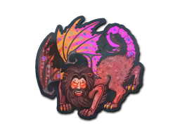 Sticker | Manticore (Holo)