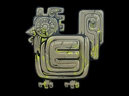 Sticker   Ancient Beast