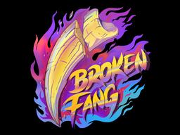 Sticker   Broken Fang (Holo)