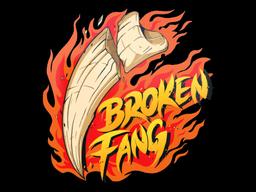 Sticker   Broken Fang