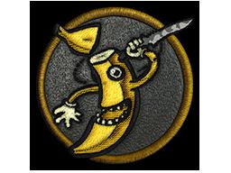 Нашивка | Безумный банан