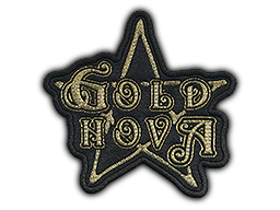 Patch | Metal Gold Nova