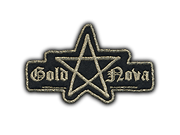 Patch | Metal Gold Nova I