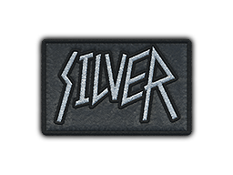 Patch | Metal Silver