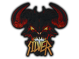 Patch | Metal Silver Demon