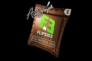 Autograph Capsule Flipsid3 Tactics Cluj Napoca 2015