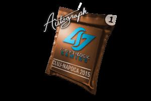 Autograph Capsule Counter Logic Gaming Cluj Napoca 2015