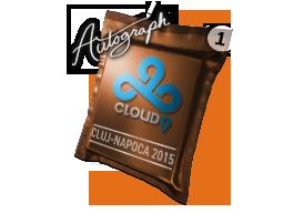 Autograph Capsule | Cloud9 | Cluj-Napoca 2015