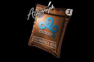 Autograph Capsule Cloud9 Cluj Napoca 2015