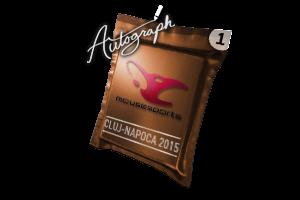 Autograph Capsule Mousesports Cluj Napoca 2015