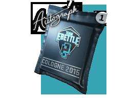 Autograph Capsule | Team eBettle | Cologne 2015