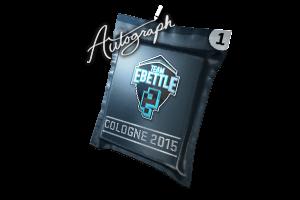 Autograph Capsule Team Ebettle Cologne 2015