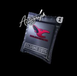 Autograph Capsule | mousesports | Cologne 2015