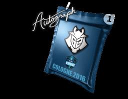 Autograph Capsule | G2 Esports | Cologne 2016