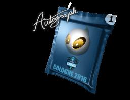 Autograph Capsule | Team Dignitas | Cologne 2016