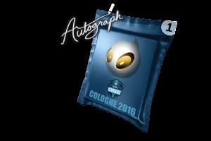 Autograph Capsule Team Dignitas Cologne 2016