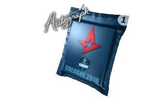 Autograph Capsule Astralis Cologne 2016