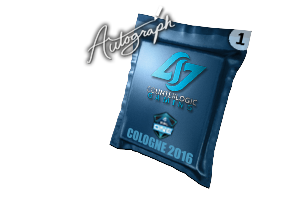 Autograph Capsule Counter Logic Gaming Cologne 2016