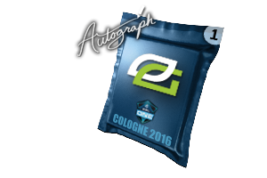 Autograph Capsule Optic Gaming Cologne 2016