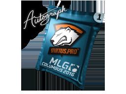 Autograph Capsule | Virtus.Pro | MLG Columbus 2016