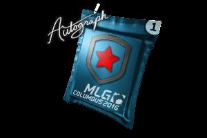 Autograph Capsule Gambit Gaming Mlg Columbus 2016