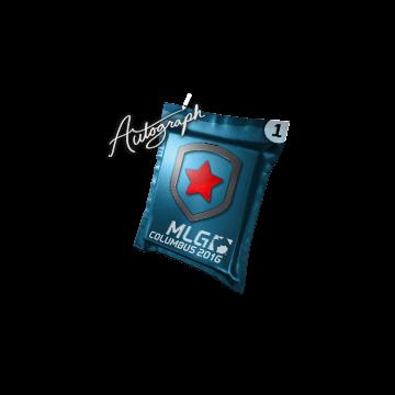 Autographed capsule | Gambit Gaming | MLG Columbus 2016