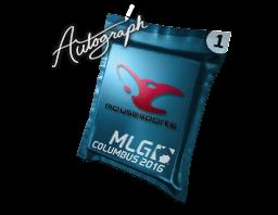 Autograph Capsule | mousesports | MLG Columbus 2016
