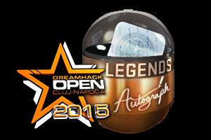 Autograph Capsule Legends Foil Cluj Napoca 2015