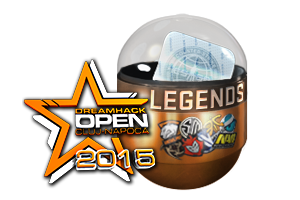 Dreamhack Cluj Napoca 2015 Legends Foil