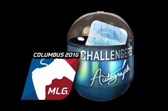 Autograph Capsule | Challengers (Foil) | MLG Columbus 2016 Price