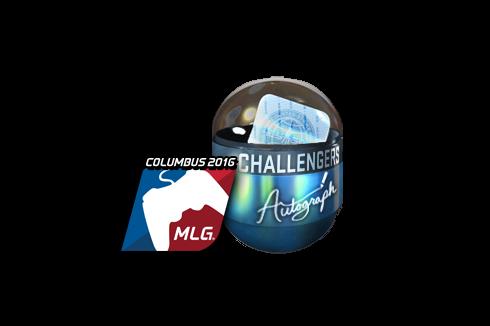Autograph Capsule | Challengers (Foil) | MLG Columbus 2016 Prices