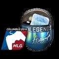 Autograph Capsule | Legends <br>(Foil) | MLG Columbus 2016
