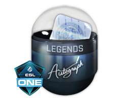 Autograph Capsule | Legends | Cologne 2016
