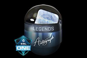 Autograph Capsule Legends Foil Cologne 2016