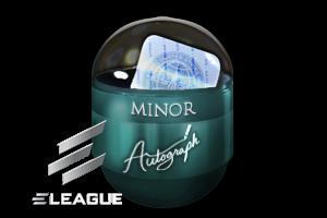 Boston 2018 Minor Challengers Autograph Capsule