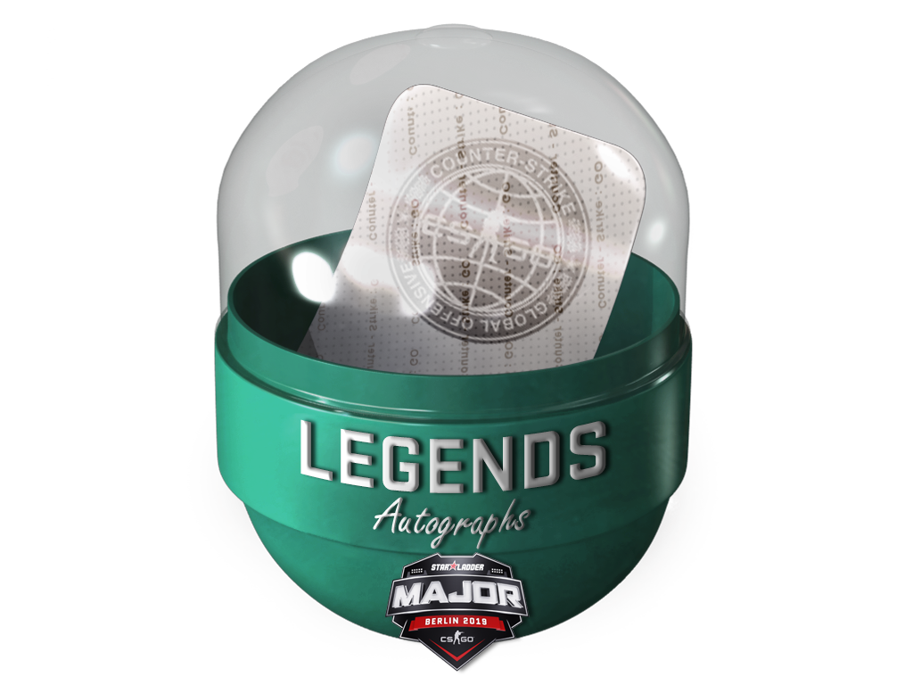 Berlin 2019 Legends Autograph Capsule
