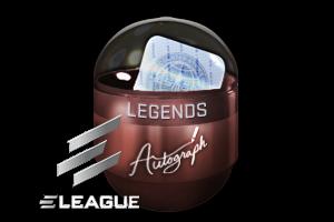 Autograph Capsule Legends Foil Atlanta 2017