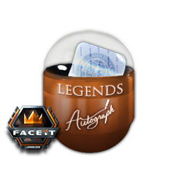 London 2018 Legends Autograph Capsule