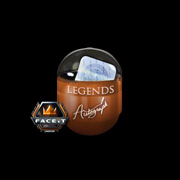 London 2018 Legends Autograph Capsule
