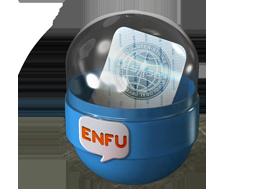 Капсула с наклейками Enfu