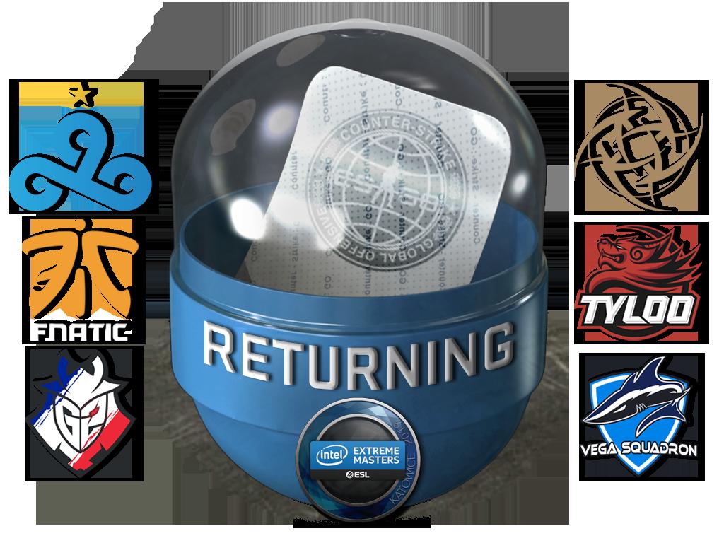 Katowice 2019 Returning Challengers